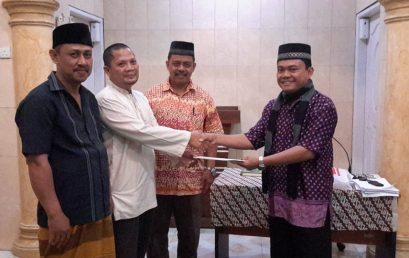Penyerahan Dana Pembuatan Keranda dalam Program Ipteks Bagi Pengembangan Muhammadiyah (IBPM)