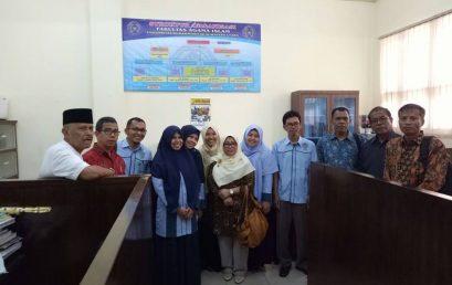 Kunjungan Rektor Universitas Muhammadiyah Sumatera Barat