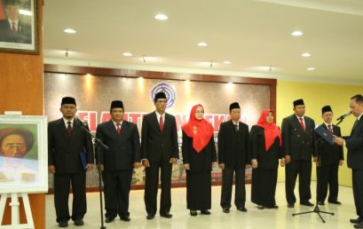 Pelantikan Dekan di Lingkungan Universitas Muhammadiyah Sumatera Utara Periode 2017-2021.