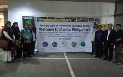 Dosen Fakultas Agama Islam Ikuti Conference Se-Asean di Manila